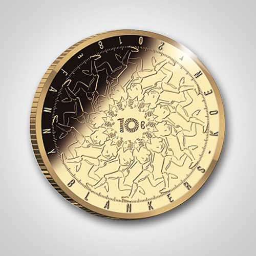 "New-Dutch-Coin-Celebrates-100th-Birth-Anniversary-of-""The-Flying-Housewife"""
