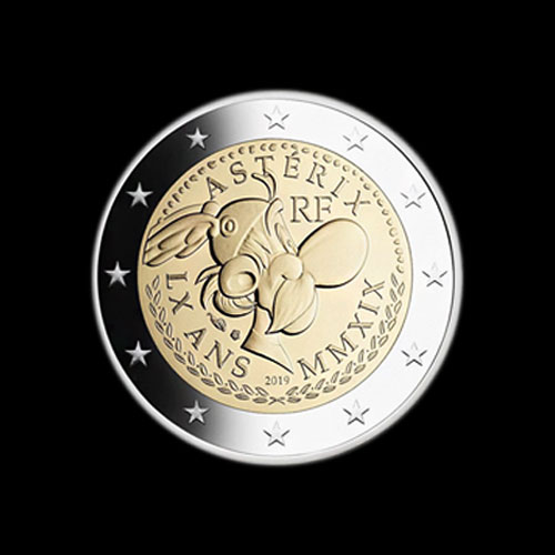 Smarty-French-Cartoon-Character,-Asterix-Honoured-on-Coins