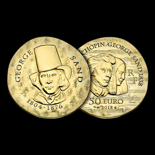 17th-Century-Writer-George-Sand-Honoured-on-French-Coins