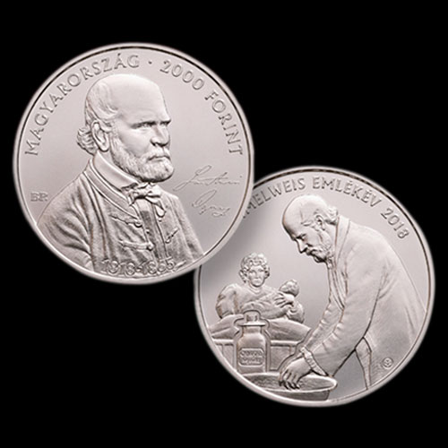 """Hungarian-Doctor-Known-as-""""Saviour-of-Mothers""""-Honoured-on-Coins"""