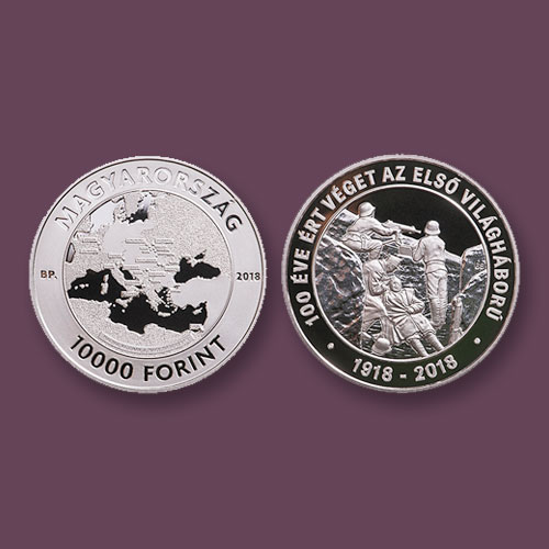 New-Hungarian-Coin-to-Mark-the-End-of-World-War-I