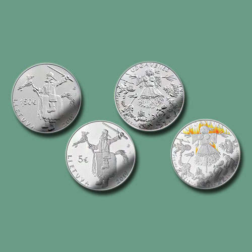 Lithuanian-Coins-Celebrate-Shrove-Tuesday-Festival