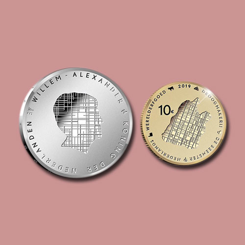 Dutch-Coins-Commemorate-Beemster-UNESCO-Heritage-Site