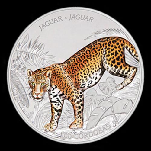 Nicaragua's-Latest-100-cordoba-Jaguar-Coin