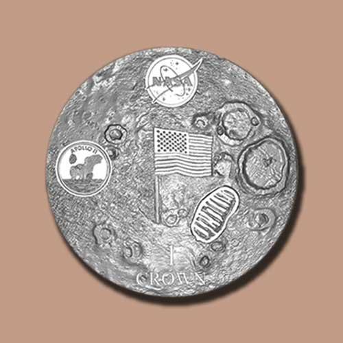Domed-Coin-Celebrates-50th-Anniversary-of-Apollo-11-Moon-Landing