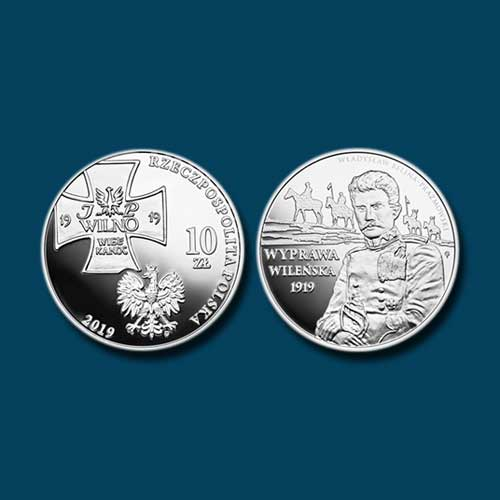 Polish-Coin-Remembers-Centenary-of-Vilnius-Operation