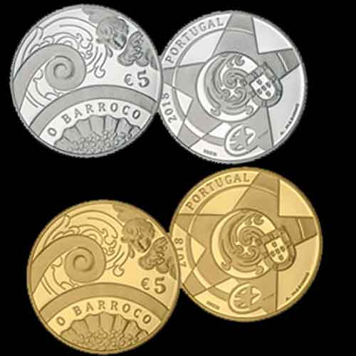 Baroque-Art-Celebrated-on-Latest-Portuguese-Coins