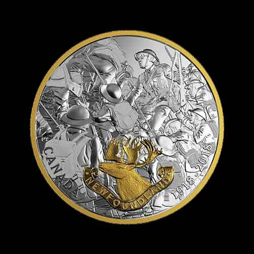 Canada-Issues-Coins-to-Celebrate-Major-Military-Accomplishments