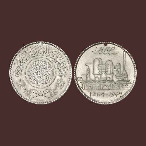Redesigned-Coin-Featuring-Saudi-Arabian-Oil-Refinery-Plant-to-be-Auctioned