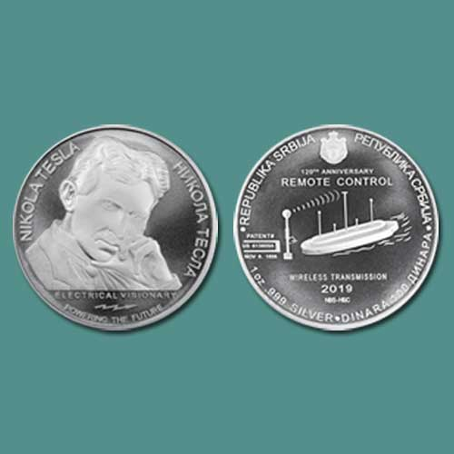 Latest-Serbian-Coin-Celebrates-Tesla's-Remote-Control