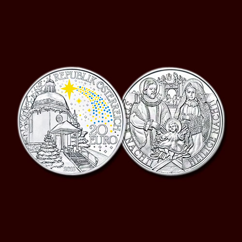 200th-Anniversary-of-Silent-Night-Celebrated-on-Austrian-Coins