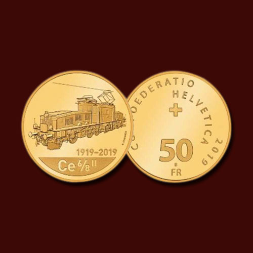 "Swiss-Coin-Celebrates-100-Years-of-""Crocodile""-Locomotive"