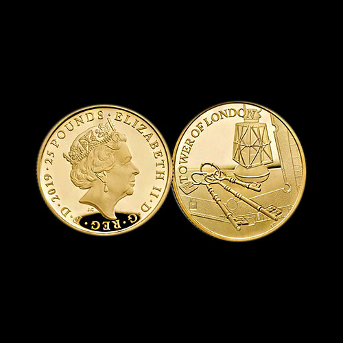 Royal-Mint-Coin-from-Tower-of-London-Collection-Honours-Ceremony-of-the-Keys
