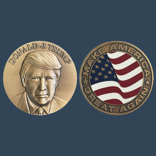 No-Spark-of-Excitement-for-President-Trump's-Official-Inaugural-Medal