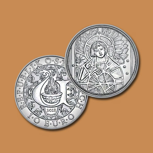 Angel-Uriel-on-Latest-Austrian-Coins