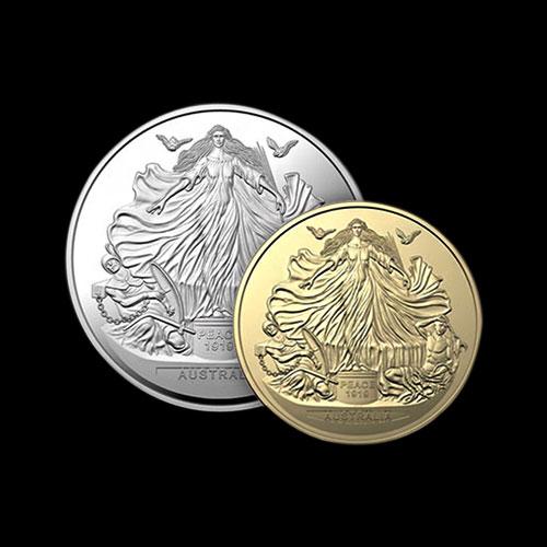 New-Australian-Coin-Marks-100th-Anniversary-of-Treaty-of-Versailles