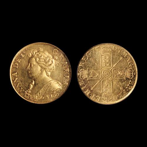 1703-VIGO-5-Guinea-Gold-Coin-Auctioned-for-$1,080,000