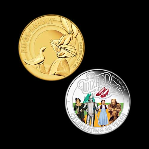 Wizard-of-Oz-and-Looney-Tunes-on-Perth-Mint-Coins