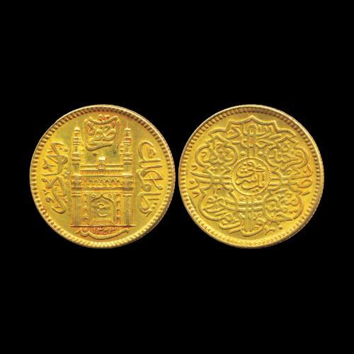Mir-Usman-Ali-Khan-Gold-Ashrafi-Sold-For-INR-95,000