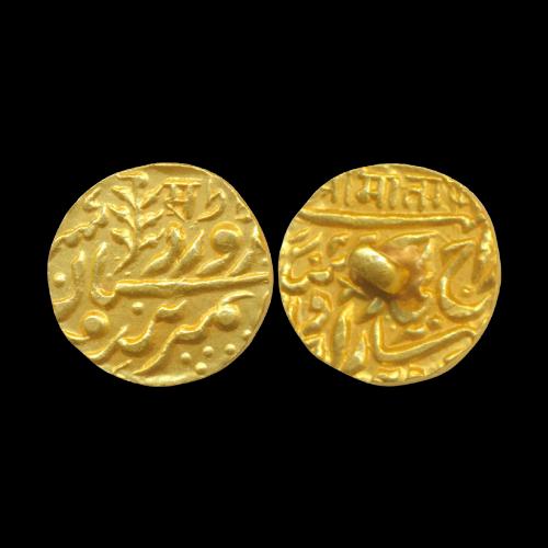 Gold-Half-Mohur-of-Princely-State-Jodhpur
