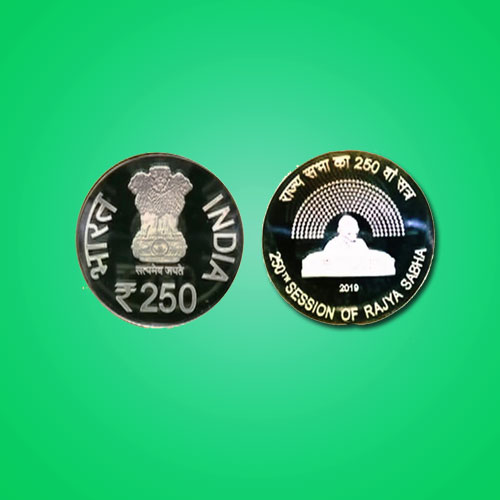 250th-Rajya-Sabha-Session-Commemorative-Coin