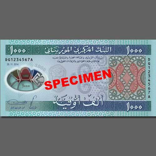 Mauritania's-New-1000-Ouguiya-Polymer-Note