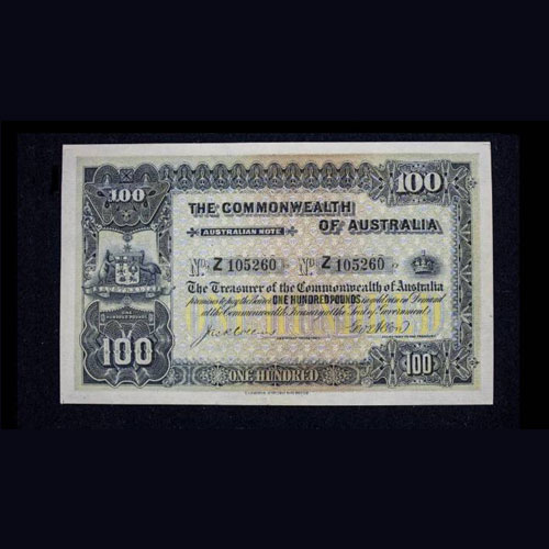 Rare-1914-£100-Banknote-of-Australia-to-be-Auctioned