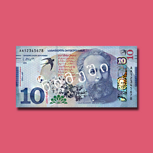 Georgia-to-Start-Circulating-New-10-GEL-Banknotes-from-October