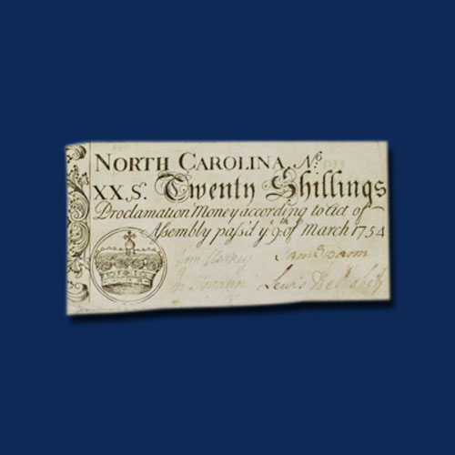 Handwritten-Colonial-Notes-of-North-Carolina