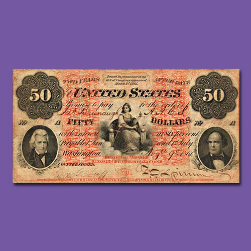 1861-$50-Interest-Bearing-Note-from-Joel-Anderson-Collection