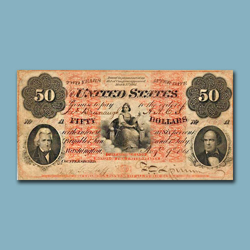 1861-$50-Interest-Bearing-Note-Sold-for-$1,020,000