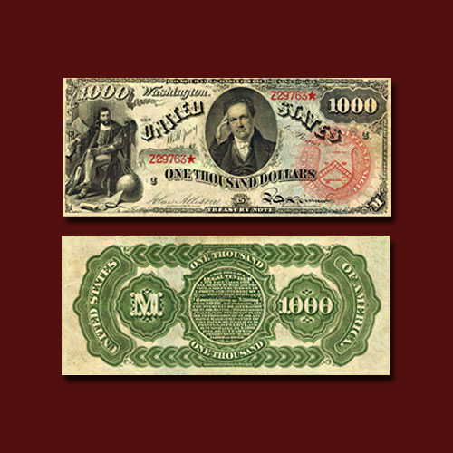 """Complete-Set-of-1869-""""Rainbow""""-Notes-to-be-Auctioned"""