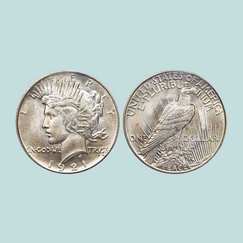 1921-Peace-dollar-Auctioned-for-$111,000-