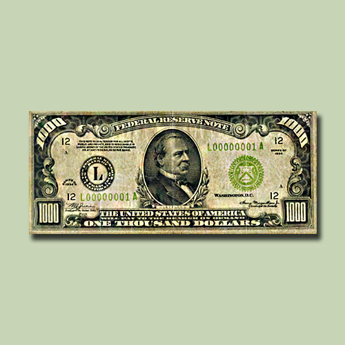 Rare-High-Denomination-US-Notes-to-be-Auctioned