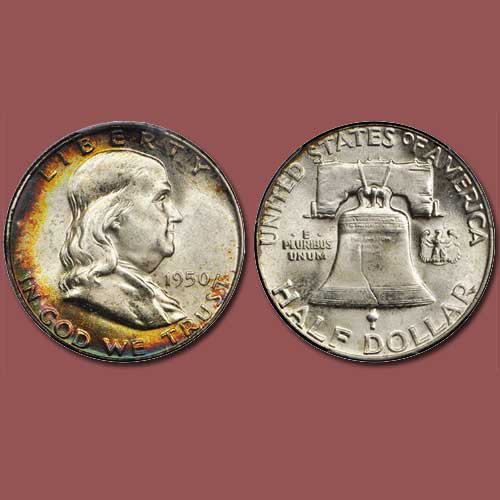 1950-Franklin-Half-Dollar-Graded-MS-67+-Full-Bell-Lines