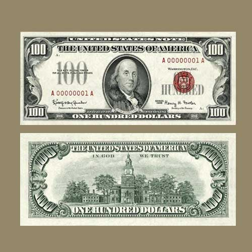 Rare-1966-$100-US-Note-to-Be-Auctioned