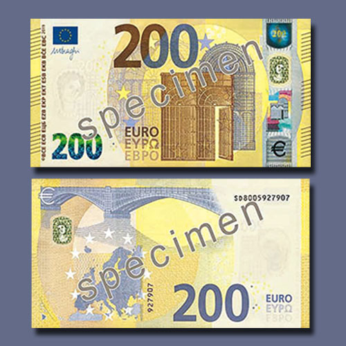 New-€100-and-€200-banknotes-of-European-Central-Bank