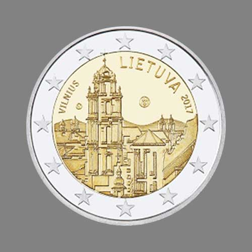 Capital-City-of-Vilnius-Celebrated-on-Latest-Lithuanian-€2-Coin