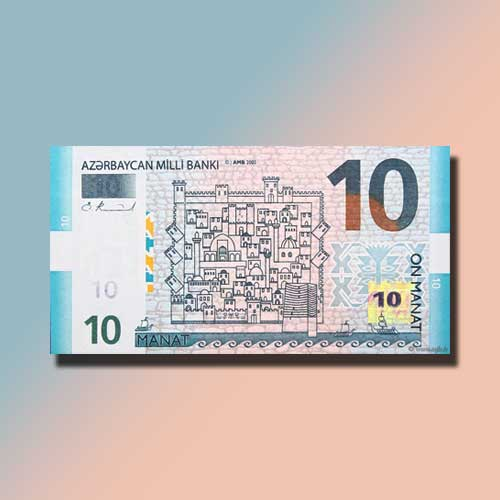 Azerbaijan-Releases-New-10-Manat-Banknote-with-Better-Security-Features