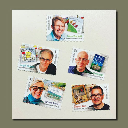 Australian-Stamps-Honour-Children's-Book-Authors