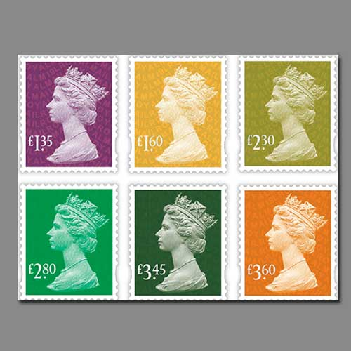 Royal-Mail-Releases-new-Definitive-Stamps