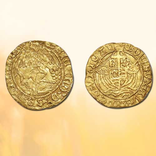 Unexpected-find-of-a-rare-Richard-III-gold-half-angel-coin-by-Detectorist
