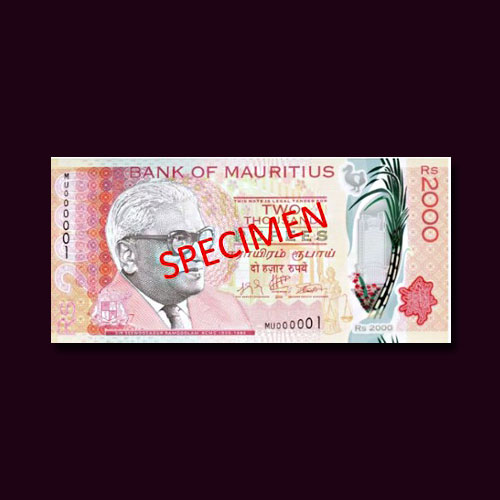 Bank-of-Mauritius-Releases-New-2000-Rupee-Polymer-Banknote