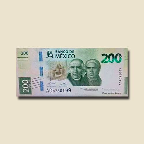 Mexico-to-Introduce-New-200-peso-Note-in-September