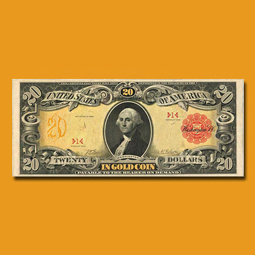Serial-Number-1-1905-Technicolor-$20-Gold-Certificate