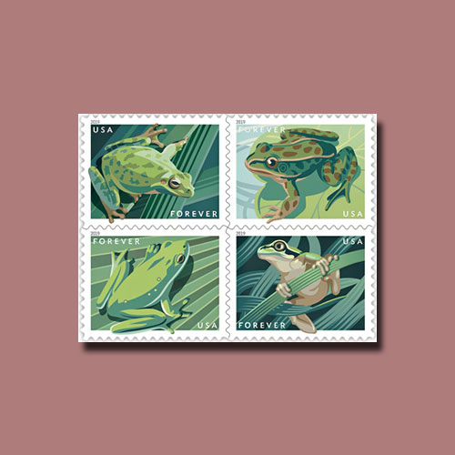 Frogs-Forever!-Latest-USPS-Release
