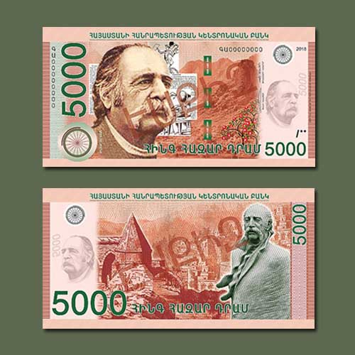 Armenia-Releases-New-1,000-,-2,000-,-and-5,000-dram-Notes