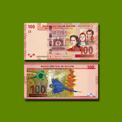 Bolivia's-Latest-100-bolivar-Banknote