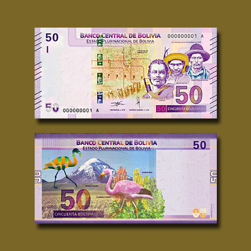 Bolivia-Releases-New-50-boliviano-Banknotes