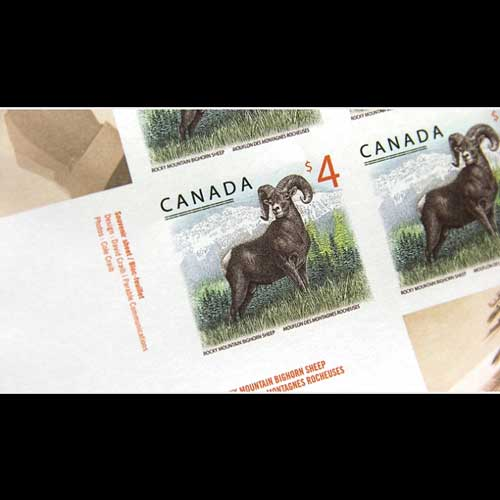 Rocky-Mountain-Bighorn-Sheep-on-New-Canadian-Stamp